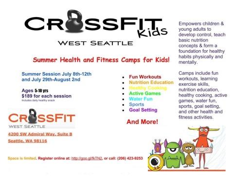 CrossFit Kids Camp Flyer